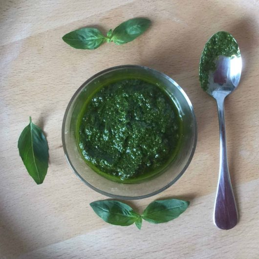 Basil pesto (Yeast free, AIP, paleo, vegan)
