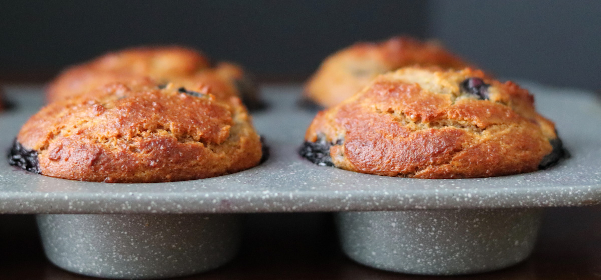 Banana blueberry muffins (Coconut free, AIP, paleo)