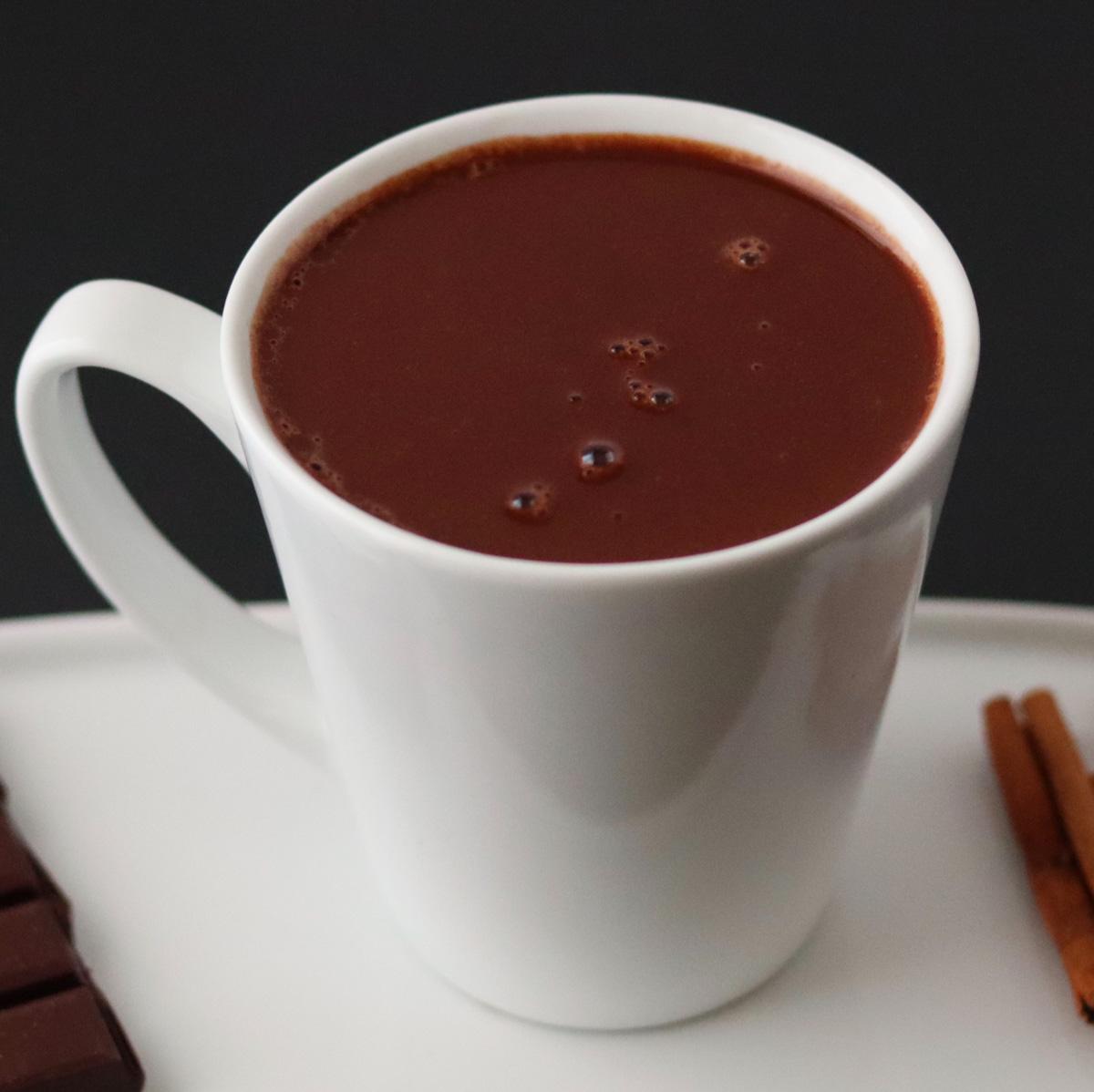 French hot chocolate (vegan, paleo)