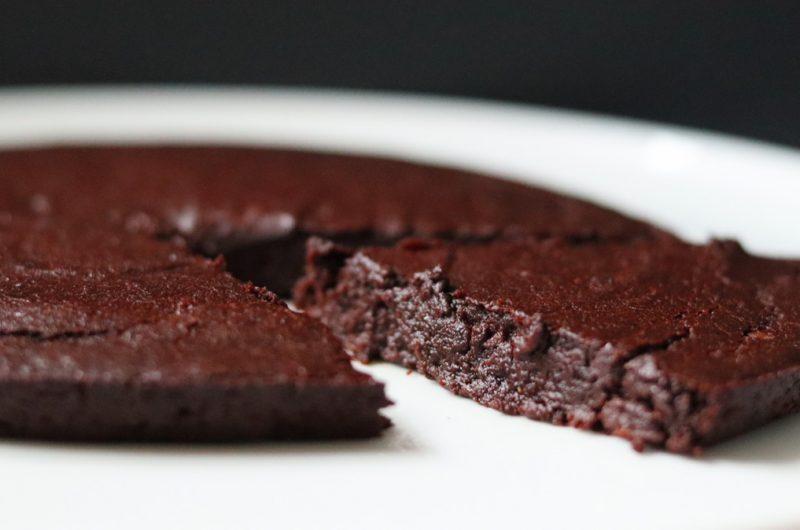 Fudgy chocolate cake (gluten free, nut free, vegan)