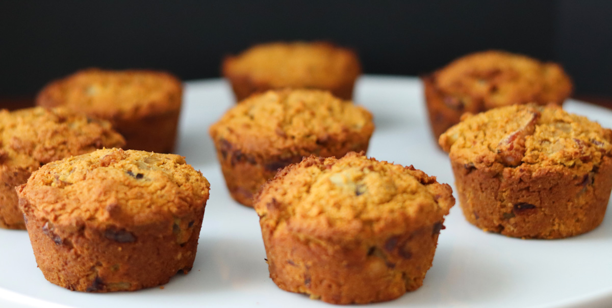 Sweet potato and bacon muffins (AIP, paleo)