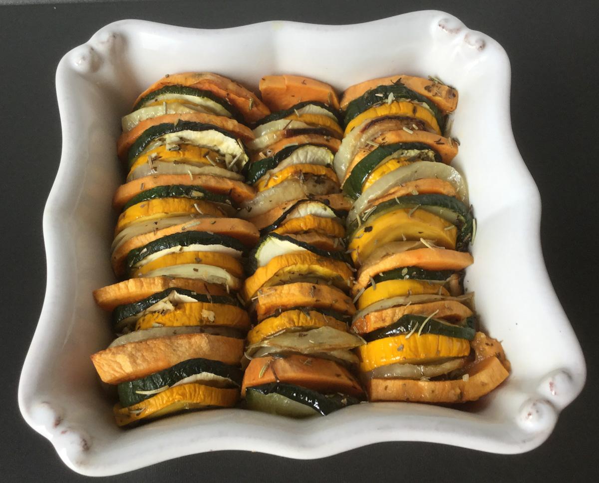 Zucchini bake (AIP, paleo, vegan)