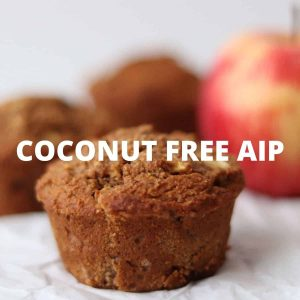 Coconut free AIP