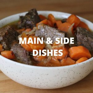 Main dishes & sides