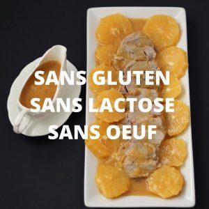 Sans gluten, sans lactose, sans oeuf