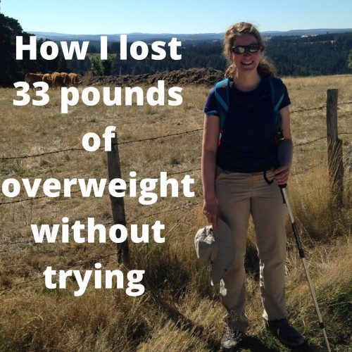 How I lost 33 pounds of overweight without trying