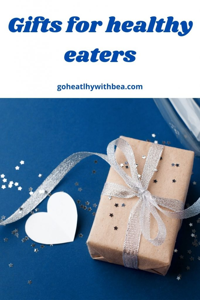 a graphic with a picture of a wrapped package and paper heart and the title